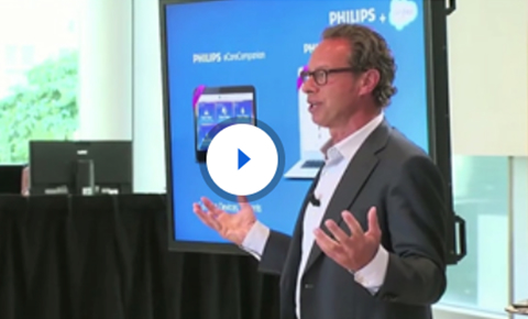 Watch as Philips and Salesforce.com announce the first digital health apps
